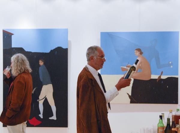 Lise Sainte Claire Deville Exposition Faro Artiste-Peintre Paris