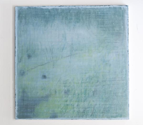 Huile sur toile, 150x150.  © Lise Sainte Claire Deville