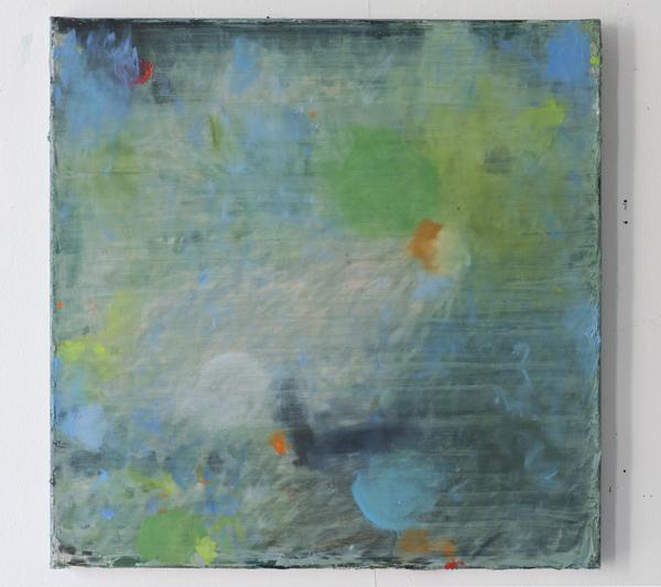 Huile sur toile, 50x50.  © Lise Sainte Claire Deville